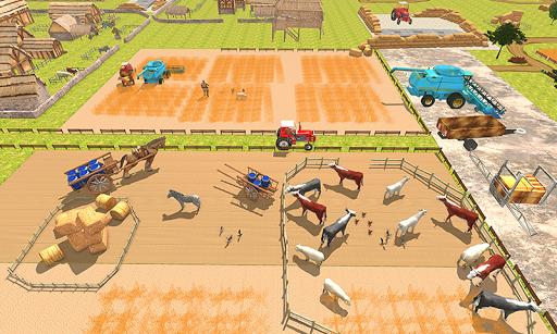 New Milford Tractor Farming Organic SIM Games 2019 apkdebit screenshots 5