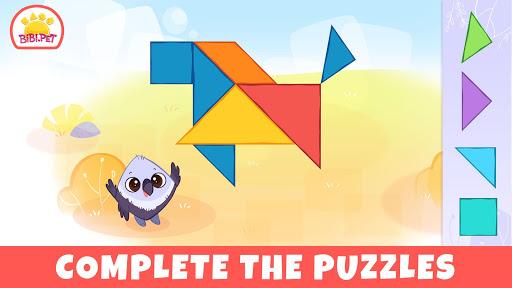 Bibi Savanna Animals games for kids  screenshots 1