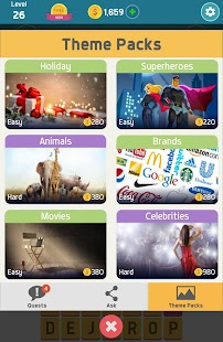Pictoword: Fun Word Games & Offline Brain Game Screenshot