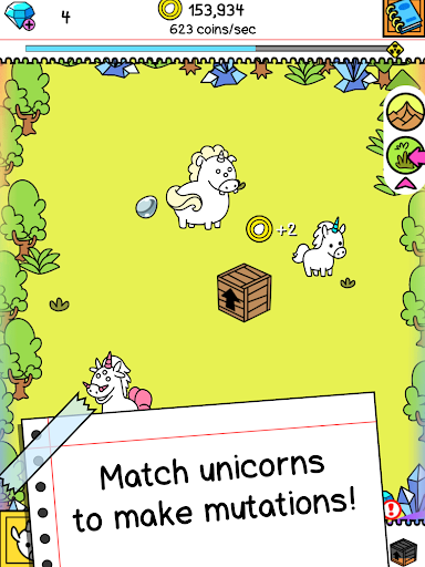 Unicorn Evolution: Fairy Tale Horse Adventure Game android2mod screenshots 7