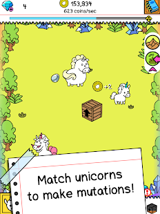 Unicorn Evolution: Fairy Tale Horse Adventure Game Screenshot