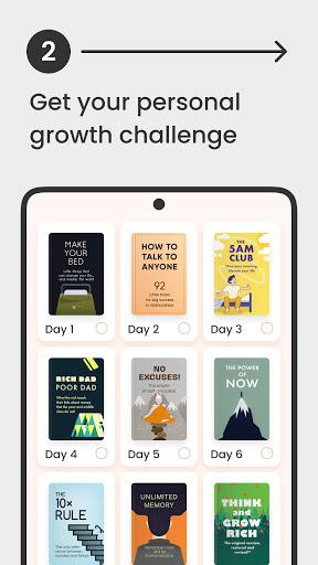 Headway: Self-Growth Challengeu202c apktram screenshots 3