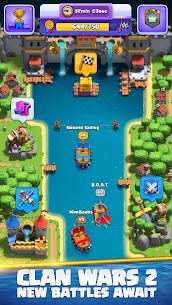 Clash Royale Mod Apk Unlimited Card+Money+Elixir+Gems 2021 v2.4.3 1
