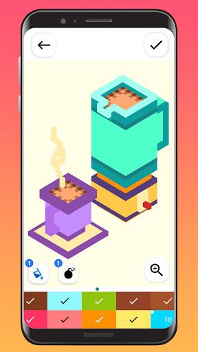 Color By Number - Unicorns Pixel Art apkdebit screenshots 3