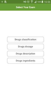 Drugs classification & dosage