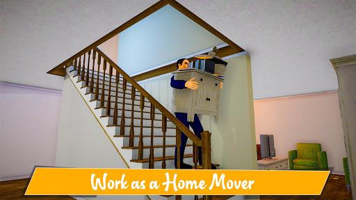 House Movers Job Simulator- Home Decor & Design screenshots 1