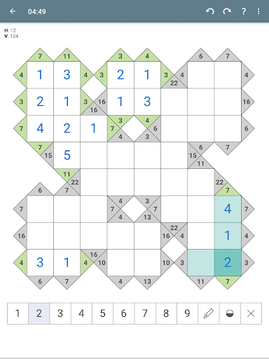 Kakuro (Cross Sums)  screenshots 11