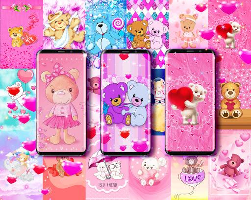 Teddy bear live wallpaper apktram screenshots 1