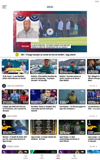 RMC Sport News - Actu Foot et Sports en direct 5.0.2 Screenshots 11