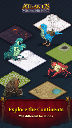 Atlantis minimal idle MMO screenshots 4