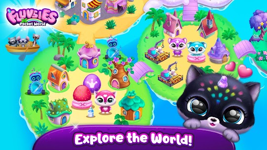 Fluvsies Pocket World – Pet Rescue & Care Story (MOD, Unlimited Money) For Android 1