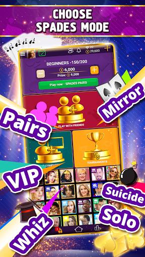 VIP Spades - Online Card Game screenshots 3
