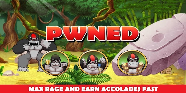 Ragingback – Gorilla Fun Game & Animal Rescue Hack for Android and iOS 5