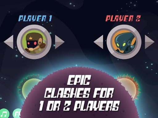 planet rider - 2 player runner screenshot 1