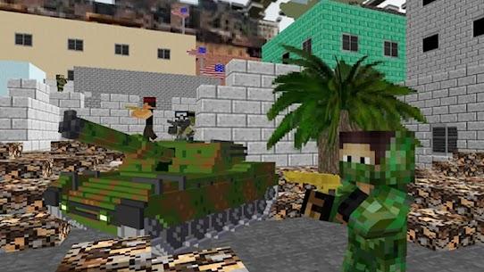 American Block Sniper Survival MOD (Unlocked) 3
