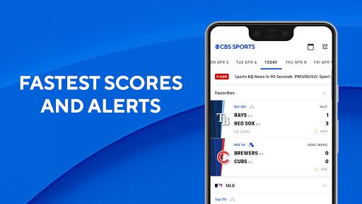 CBS Sports App - Scores, News, Stats & Watch Live  screenshots 2
