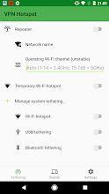 VPN Hotspot - tethering/Wi-Fi repeater screenshot thumbnail