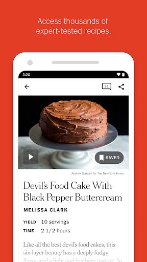 nyt cooking screenshot 3
