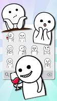 Bun Man Life Emoji Stickers
