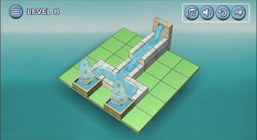 Flow Water Fountain 3D Puzzle 1.2 Screenshots 17