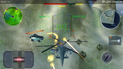 helicopter-gunship-combat -fightofair(3d) screenshot 2