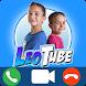 Leotube Video Call : Fake Video Call Leotube
