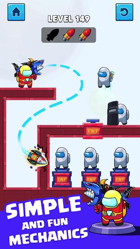 Rocket War: Impostor Fight  screenshots 5