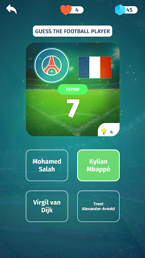 Football Quiz - Guess players, clubs, leagues 3.2 screenshots 3