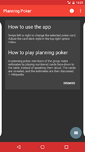Planning Poker App Android