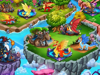 Dragon Village (MOD, Unlimited Money/Gems/Food) 2