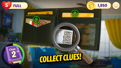 Small Town Murders: Match 3 Crime Mystery Stories screenshots 3