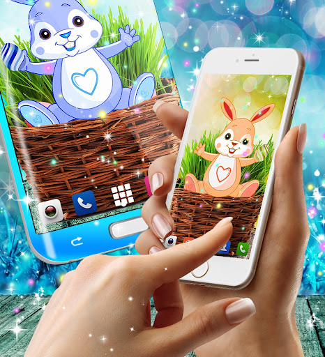 Cute bunny live wallpaper for android modavailable screenshots 11