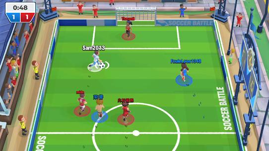 Soccer Battle Online PvP Mod Apk 1.23.0 (Unlimited Cash/Gold) 3