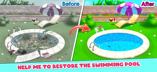 Big Home Makeover - House Cleaning Game for Girls 3.0 screenshots 5