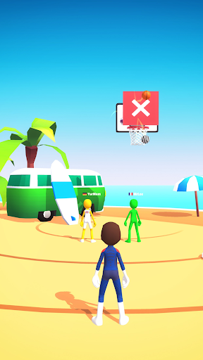 Five Hoops - Basketball Game apkmr screenshots 3