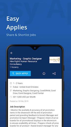 Naukrigulf- Career & Job Search App in Dubai, Gulf 4.0 Screenshots 4