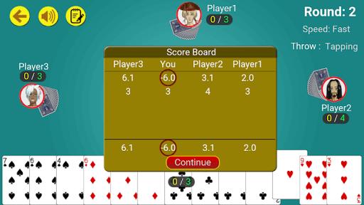Call break : Offline Card Game 3.7 screenshots 4