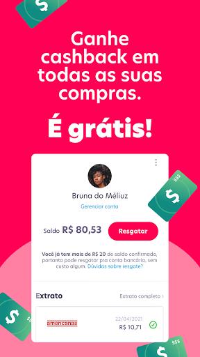 Mu00e9liuz: Cashback, Cartu00e3o de Cru00e9dito e Cupons android2mod screenshots 9