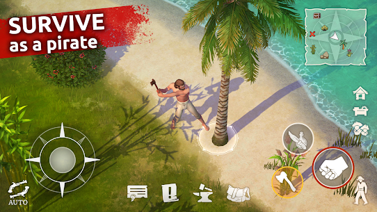 Mutiny: Pirate Survival APK (MOD, Free Craft) for Android 3
