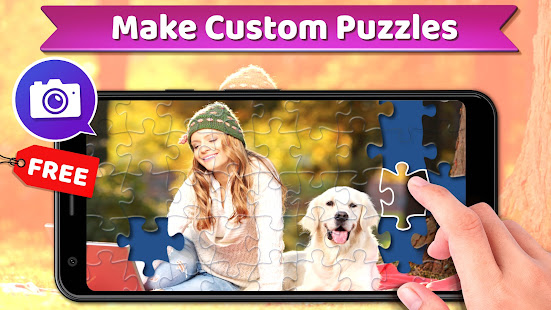 Jigsaw Puzzles Pro ud83eudde9 - Free Jigsaw Puzzle Games 1.6.1 Screenshots 5