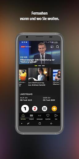 ORF TVthek: Video on demand android2mod screenshots 1