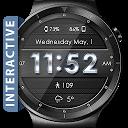 Metallic Mesh HD WatchFace Widget & Live Wallpaper