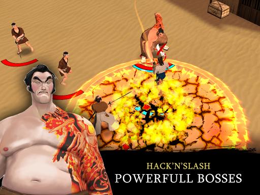 Bushido Saga - Nightmare of the Samurai apkpoly screenshots 11