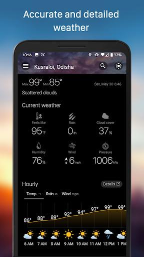 Weather & Widget - Weawow android2mod screenshots 4