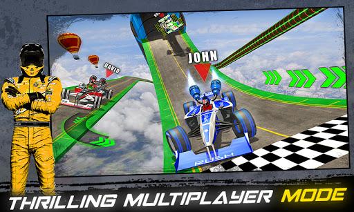Impossible Formula Jet Car Racing Stunts  screenshots 2