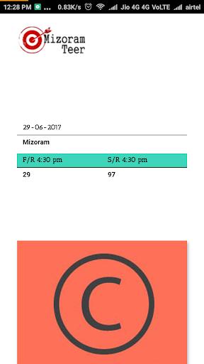 Mizoram Teer Result 1.0 Screenshots 1