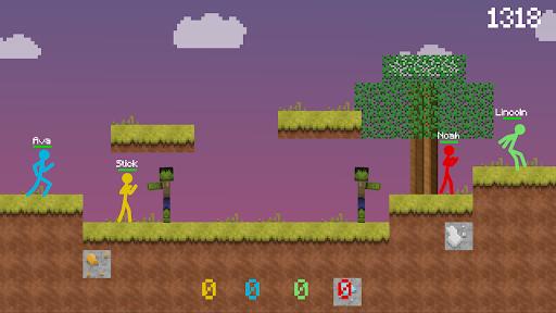 Stickman vs Multicraft: Survival Craft Pocket  screenshots 5