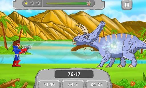 Math vs Dinosaurs Kids Games 2.5 screenshots 2