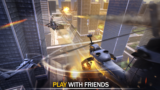 Gunship Force: Free Helicopter Games Attack 3D  screenshots 14