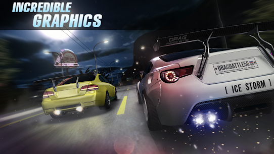 Drag Battle 3.25.86 MOD APK [UNLOCKED ALL CARS] 4